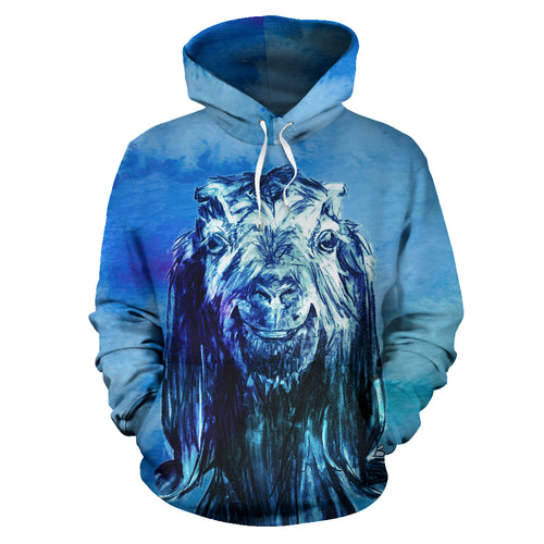 All over print hoodie for men & women - goat 20