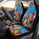 Car Seat Covers - Cow Lovers 16