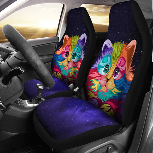 Car Seat Covers - Cat Lovers 20