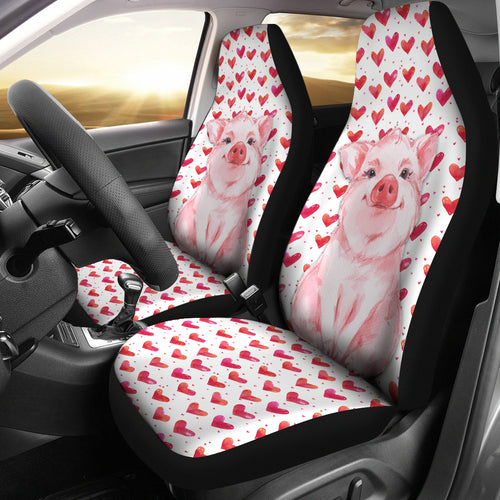 Love Pig-2 car seat covers