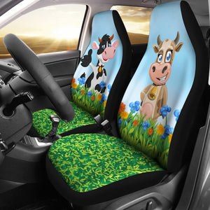 Car Seat Covers - Cow Lovers 28