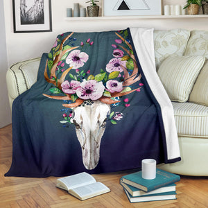 Velvet Plush Throw Fleece Blanket Printed-sk010