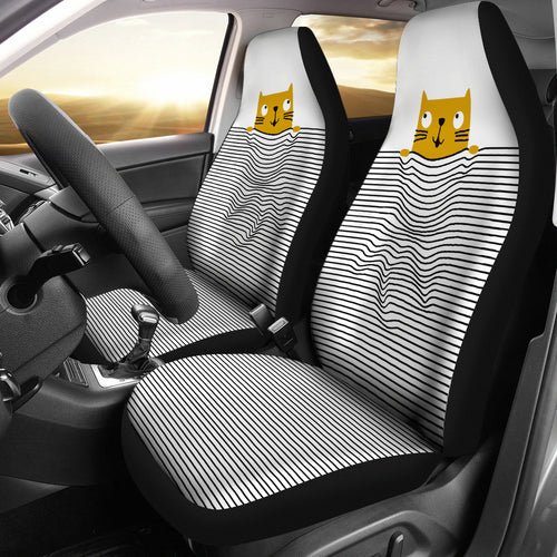 Car Seat Covers - Cat Lovers 13