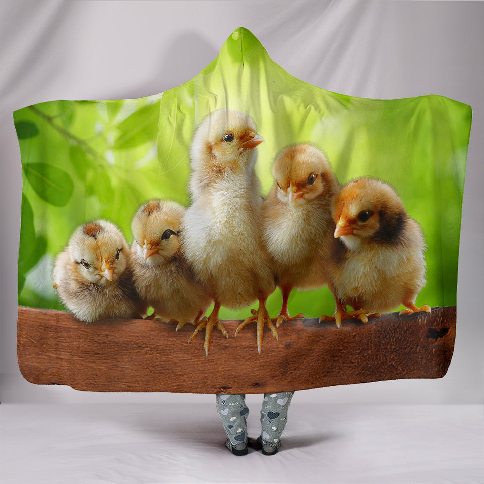 Hooded Blanket - chicken 18