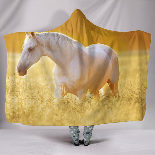 Hooded Blanket - horse style 11