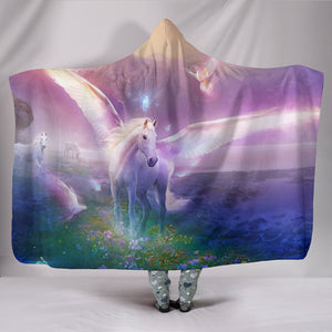 Hooded Blanket - horse style 14