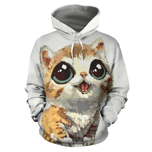 All over print hoodie for men & women - Cat 01