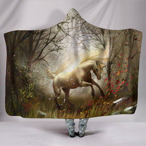 Hooded Blanket - horse style 10