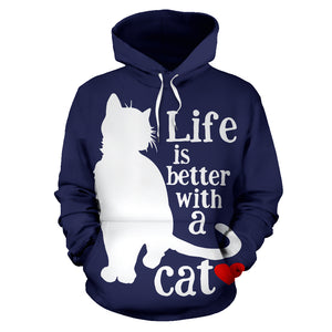 All over print hoodie for men & women - Cat 05