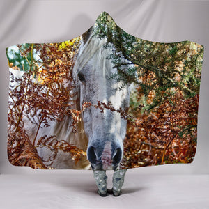 Hooded Blanket - horse style 23