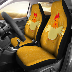Car Seat Covers - Chicken Lovers 15