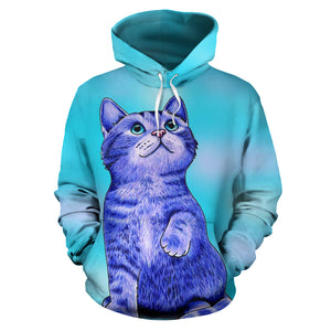 All over print hoodie for men & women - Cat 02
