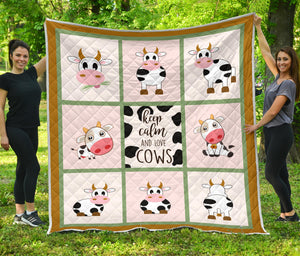Quilt for Cow Lovers 32