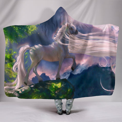 Hooded Blanket - horse style 19