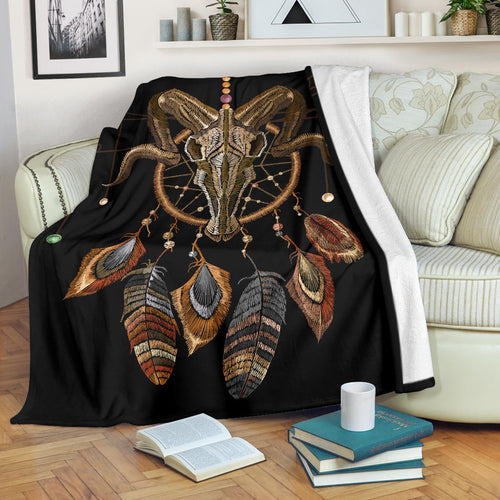 Premium Blanket Cute Cow Printed-sk07