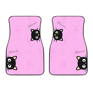 Front car mats (set of 2) - Cat Lovers 02