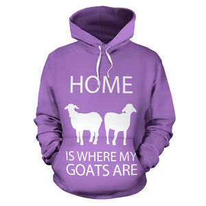 All over print hoodie for men & women - Goat 05