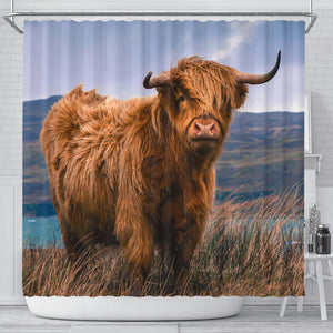 Shower Curtain - Cow Lovers 08