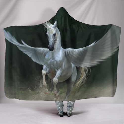 Hooded Blanket - horse style 16