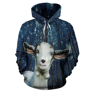 All over print hoodie for men & women - goat 13