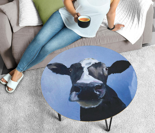 Circular Coffee Table - Cow Lovers 07 (US Only)