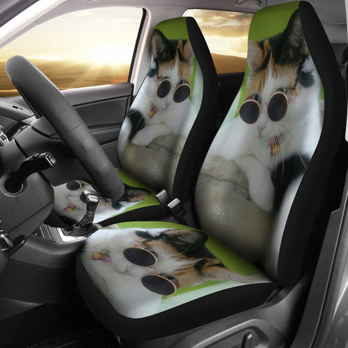 Car Seat Covers - Cat Lovers 25