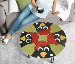 Circular Coffee Table - Chicken Lovers 03 (US Only)