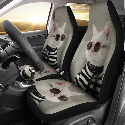 Car Seat Covers - Cat Lovers 26