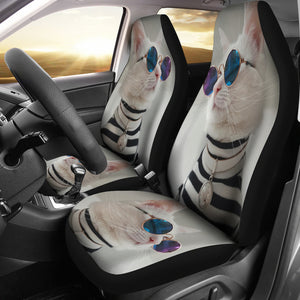 Car Seat Covers - Cat Lovers 27