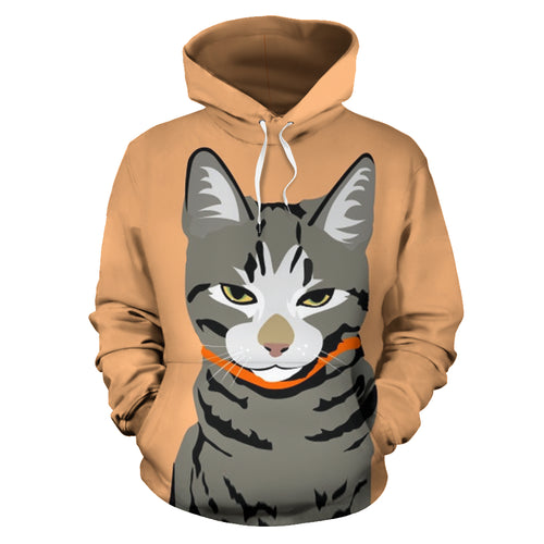 All over print hoodie for men & women - cat 06