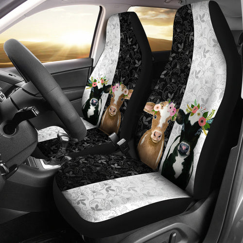 Two cows - Car Seat Covers