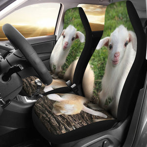Goat 14 - car seat covers