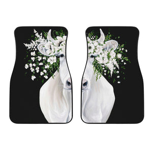 Front car mats (set of 2) - Cow Lovers 09