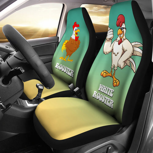 Car Seat Covers - Chicken Lovers 11
