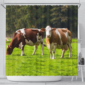 Shower Curtain - Cow Lovers 03