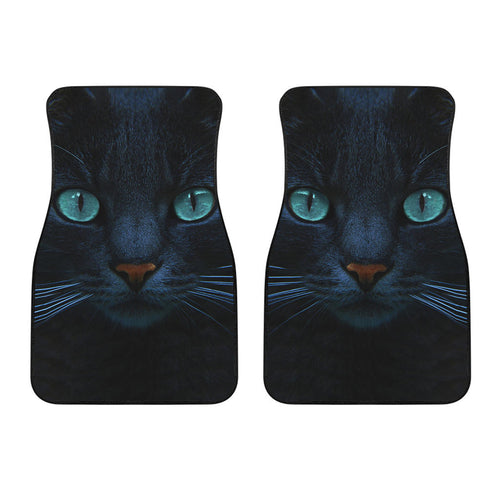 Front car mats (set of 2) - Cat Lovers 05