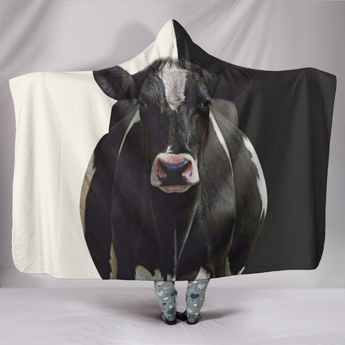 Hooded Blanket - cow style 18