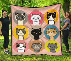 Quilt for Cat Lovers 04