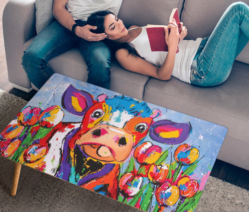 Rectangular Coffee Table - Cow Lovers 01 (US Only)