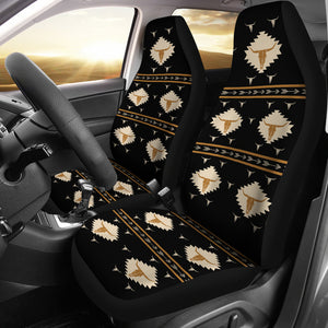 skull cow pattern-2 car seat covers