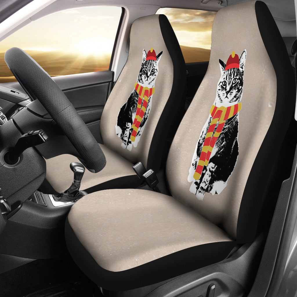 cat car seat covers barn smile shop for farmer love cow pig chicken horse goat cat dog. Black Bedroom Furniture Sets. Home Design Ideas