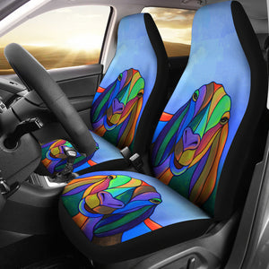 Goat 04 - car seat covers