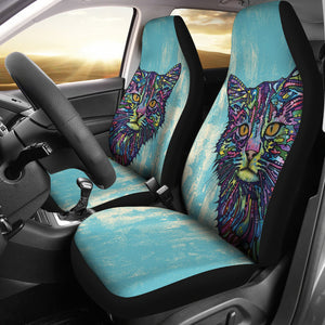 Car Seat Covers - Cat Lovers 22