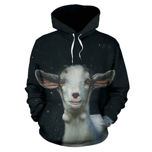 All over print hoodie for men & women - Goat 04