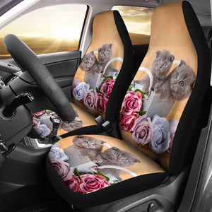Car Seat Covers - Cat Lovers 24