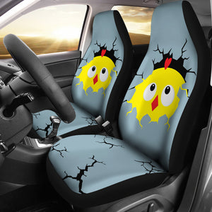 Car Seat Covers - Chicken Lovers 01
