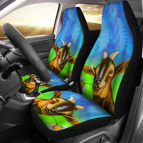 Goat 10 - car seat covers