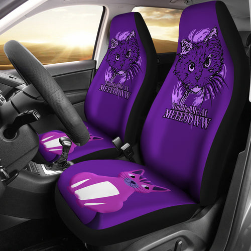 You had me Cat Car Seat Cover