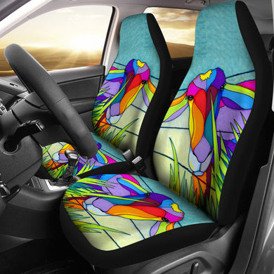 Goat 06 - car seat covers