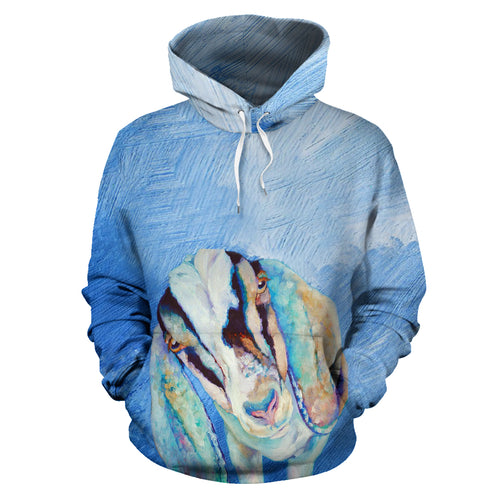 All over print hoodie for men & women - goat 23